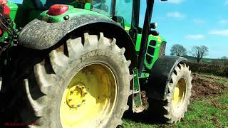 Download Ploughing-out the Pasture with John Deere. Video