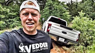 Download I messed up...New F250 Stuck in Mud Video