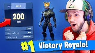 Download Ali-A's 200th SOLO VICTORY ROYALE in Fortnite: Battle Royale! Video