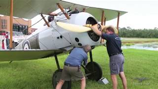Download Sopwith Snipe - First Flight in 5 Years - Prep for Oshkosh Video