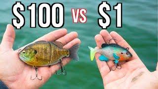 Download CHEAP vs EXPENSIVE Swimbait Fishing CHALLENGE!!!! Video