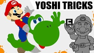 Download 7 Amazing Tricks with Yoshi in Super Mario Maker! Video