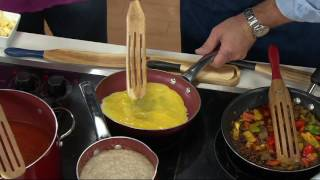 Download Mad Hungry 4-piece Acacia Wood Spurtle Set on QVC Video