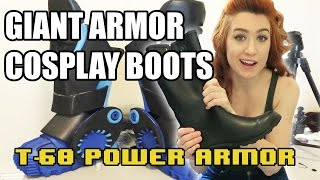 Download How to Make Giant Armor Boots for Cosplay [Building T-60 Power Armor] Video