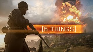 Download ► 5 THINGS THAT WILL MAKE BATTLEFIELD 1 BETTER! Video