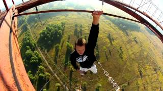 Download JportDev - compilation of awesome crazy Ukrainians climbing high places Video