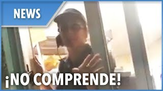 Download Florida Taco Bell employee FIRED for refusing to serve English speaking customer Video