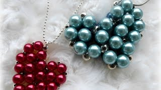 Download DIY beaded heart locket with secret message inside Video