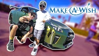 Download Not Your Average ″Make A Wish″ Day! Video