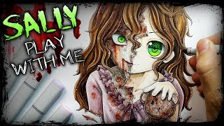 Download ″Play With Me″ Sally Williams (Horror Story) Creepypasta + Anime Drawing Video