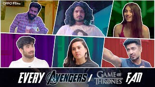 Download Types Of Avengers/GOT Fans | The Hasley India Video