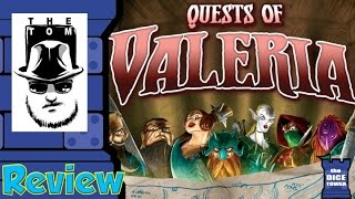 Download Quests of Valeria Review - with Tom Vasel Video