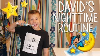 Download David's Nighttime Routine Video