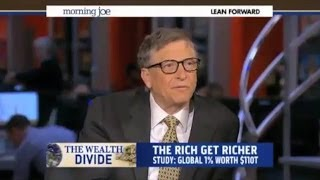 Download Bill Gates: 'If You Raise The Minimum Wage You're Encouraging Labor Substitution' Video