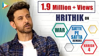 """Download Hrithik Roshan: """"Tiger Shroff Is Going to Be UNTOUCHABLE for Next 50 Years""""   WAR   Super 30 Video"""