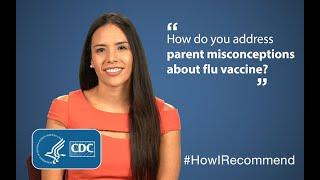 Download Addressing Parent Misconceptions around Flu Vaccine: Dr. Edith Bracho-Sanchez Video