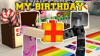 Download Minecraft: MY BIRTHDAY PARTY!! - BIRTHDAY PRESENT HUNT - Custom Map Video