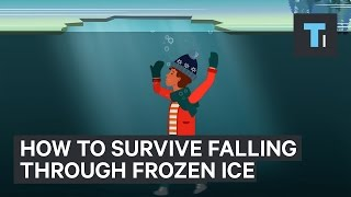 Download How to survive a fall through frozen ice Video