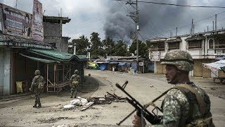 Download CGTN goes inside the war zone in Marawi Video