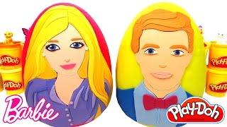 Download Barbie ve Ken Sürpriz Yumurtaları - 2 Dev Sürpriz Yumurta Barbie Elbiseleri Aksesuarları Video
