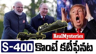 Download America threatens India with Sanctions if we Buy S-400 from Russia | CAATSA Act Explained In Telugu Video