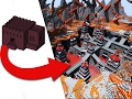 Download How To Transform A Nether Fortress - EPIC Build! Video