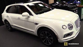 Download 2017 Bentley Bentayga W12 - Exterior and Interior Walkaround - 2017 Montreal Auto Show Video