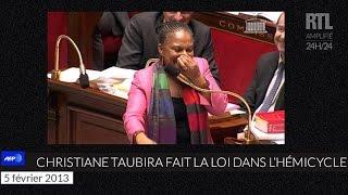 Download Quand Christiane Taubira faisait le show à l'Assemblée nationale - RTL - RTL Video