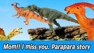 Download [EN] Mom! I miss you. Parapara story!! dinosaurs adventure, dinosaurs names, collectaㅣCoCosToy Video