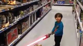 Download Action Movie Kid Toy Lightsaber Video