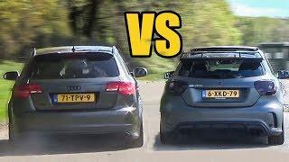 Download Audi RS3 vs Mercedes A45 AMG - SOUND BATTLE! Video