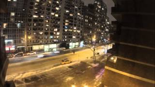 Download The biggest ″Blizzard″ in History of New York City - 2015 - time lapse Video