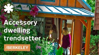 Download Berkeley's backyard tiny house adds income & affordable housing Video