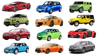 Download H to M | Brand of cars names of cars transportation for kids. Street vehicles for children Video
