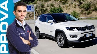 Download Jeep Compass 2.0 diesel 140 CV | Come va il nuovo SUV italo-americano Video