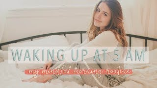 Download Waking up at 5 A.M. - My Mindful Morning Routine Video