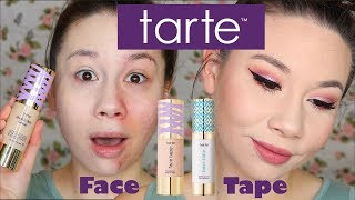 Download NEW Tarte FACE TAPE on ACNE!!! Video