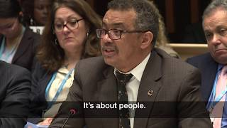 Download WHO: Dr Tedros, Director-General, addressing WHO's Executive Board Video