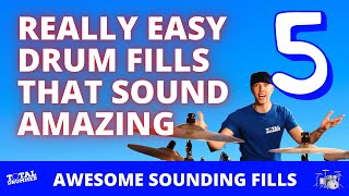 Download Five Really Easy Drum Fills That Sound Amazing Video