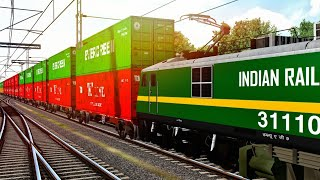 Download How To Drive Train In MSTS Open Rails || Tutorial For Driving Electric And Diesel Locomotive Video