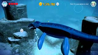 Download LEGO Jurassic World 100% Guide - Mosasaurus Area (Jurassic World Hub) All Collectibles Video