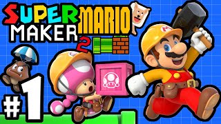 Download Super Mario Maker 2 Player - Nintendo Switch Gameplay Walkthrough PART 1: Story Mode & Multiplayer Video