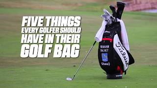 Download Five Things Every Golfer Should Have In Their Bag Video