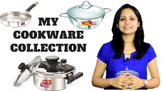 Download My Cooking Utensils Collection   Stainless Steel Cookwares   Indian Cooking Utensils   Urban Rasoi Video