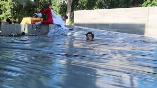 Download WE DUCT TAPE THE TEAM 10 POOL!! Video