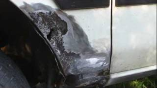 Download How to repair a rust hole on your vehicle. Video