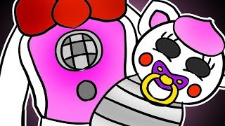 Download Minecraft Fnaf: Funtime Foxy Has A Baby (Minecraft Roleplay) Video