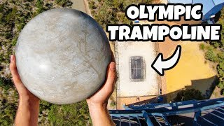 Download ATLAS STONE Vs. OLYMPIC TRAMPOLINE from 45m! Video
