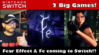 Download Fear Effect Reinvented and Fe both coming to the Nintendo Switch! Video