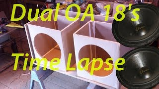 Download 18″ Obsidian Audio v2 G Sub Subwoofer Box Build (TimeLapse) Video